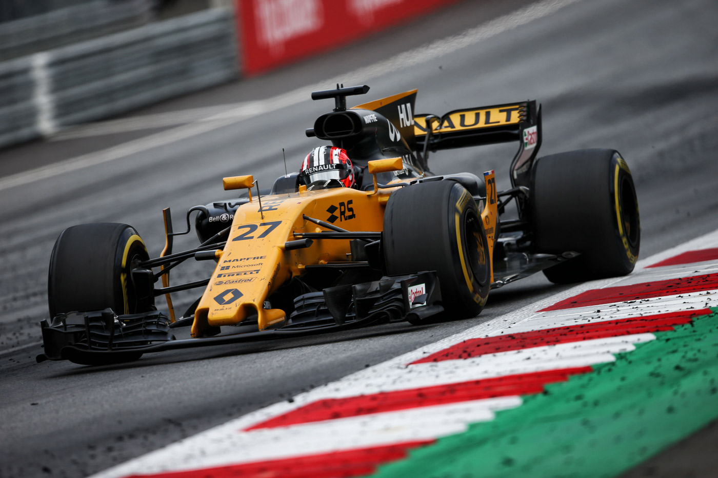 grand prix d autriche jolyon palmer termine une demi seconde seulement des points renault. Black Bedroom Furniture Sets. Home Design Ideas