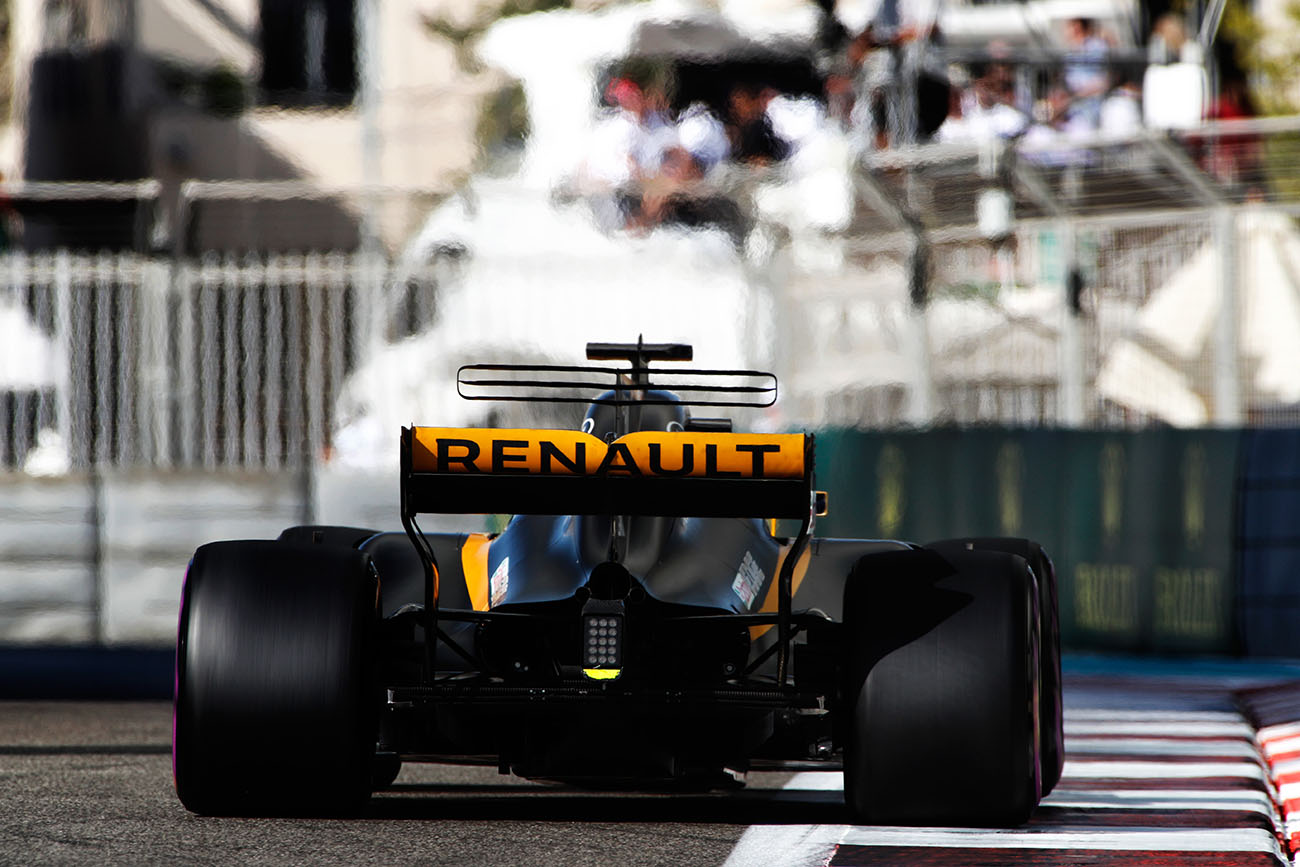 grand prix d abu dhabi renault au sixi me rang du championnat du monde de formule 1 renault. Black Bedroom Furniture Sets. Home Design Ideas