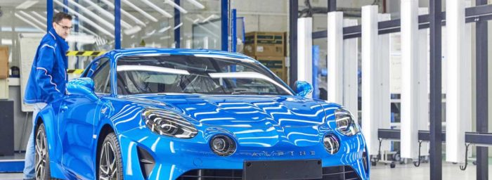renault inaugure la nouvelle ligne de production de l 39 alpine a110 dieppe. Black Bedroom Furniture Sets. Home Design Ideas