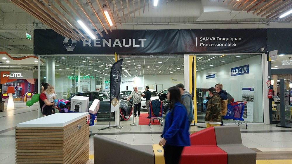 Pop Up Store Renault Draguignan